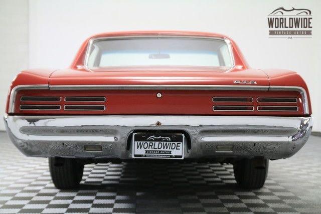 1967 Pontiac Gto Hardtop, 400 V8 4-Barrel,3-Speed Manual