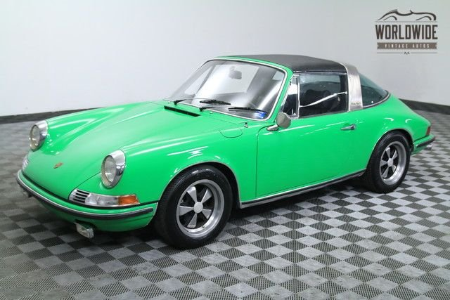 1969 Porsche 911E