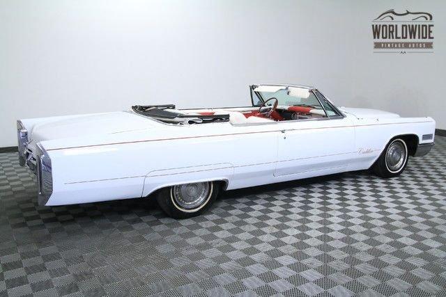 1966 Cadillac Coupe De Ville