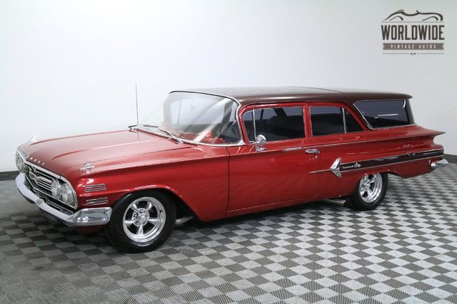 1960 chevrolet brookwood nomad wagon vip very rare