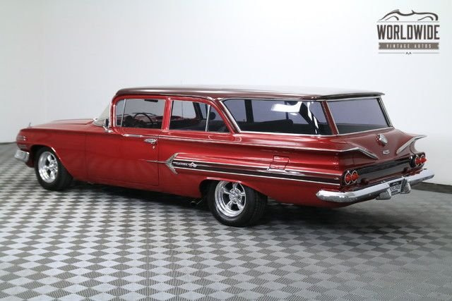 1960 Chevrolet Brookwood Nomad Wagon (Vip) Very Rare