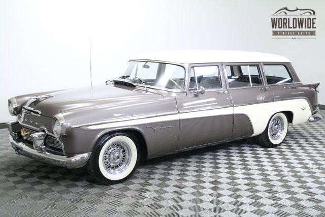 1956 desoto firedome wagon vip hemi v8 330ci rare stunning restoration original miles