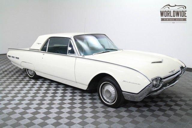 1962 ford thunderbird original condition 390 v8 one repaint very nice interior