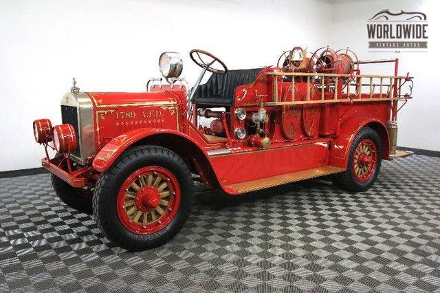 1922 stoughton fire engine