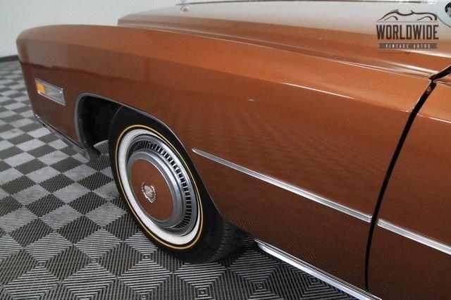 1976 Cadillac Eldorado One Of 1000. Rare!  Fuel Injected Model.