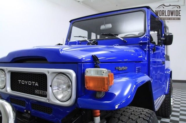 1978 Toyota Fj40 Diesel