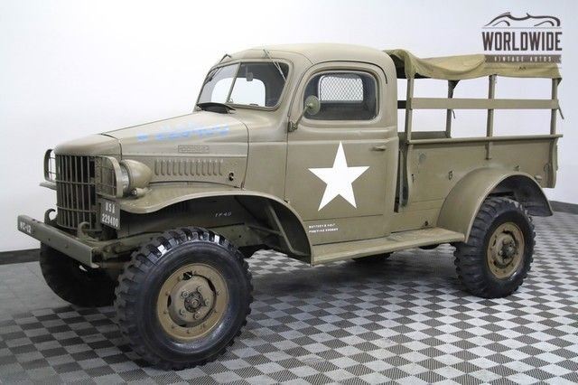 1941 dodge power wagon wc 12
