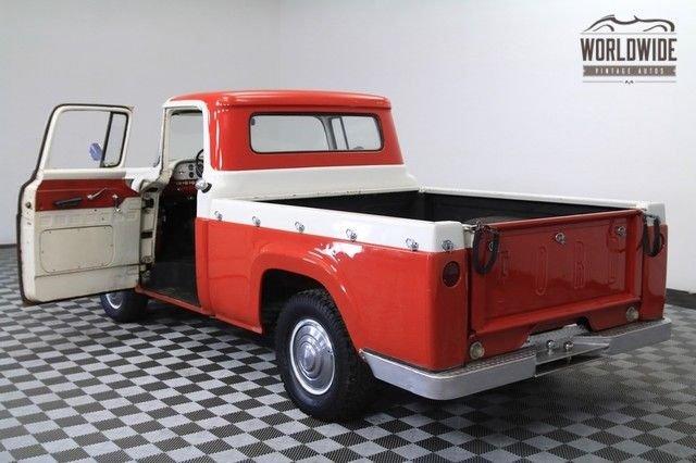1959 Ford F100 292Ci V8 2-Owner Shortbed