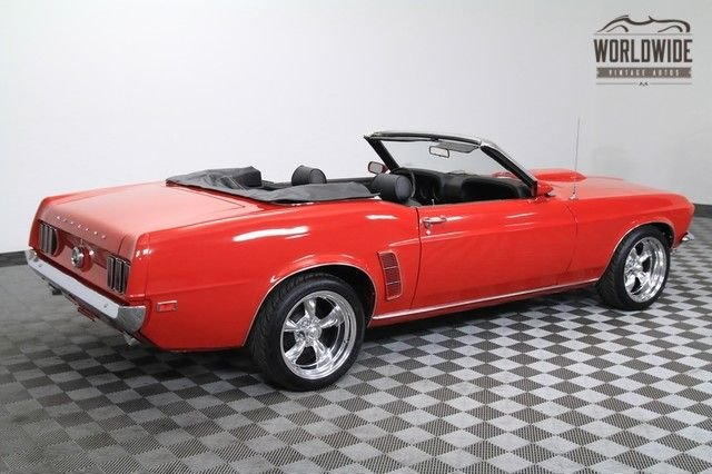 1969 Ford Mustang Convertible