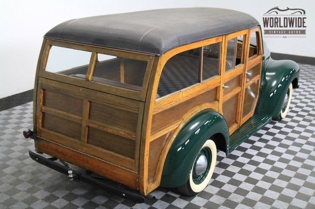 1946 International K1 Woody Wagon