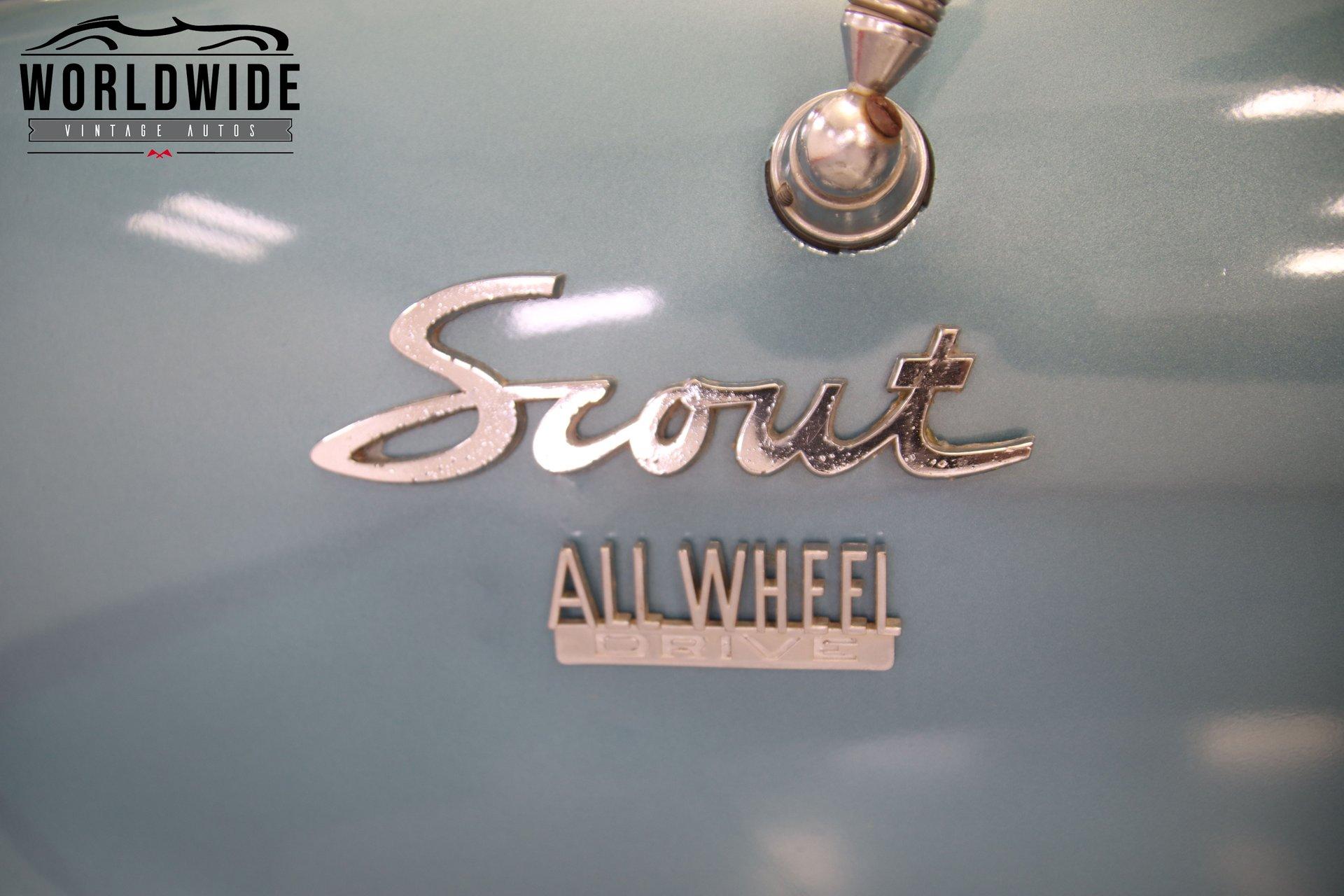 1964 International Scout