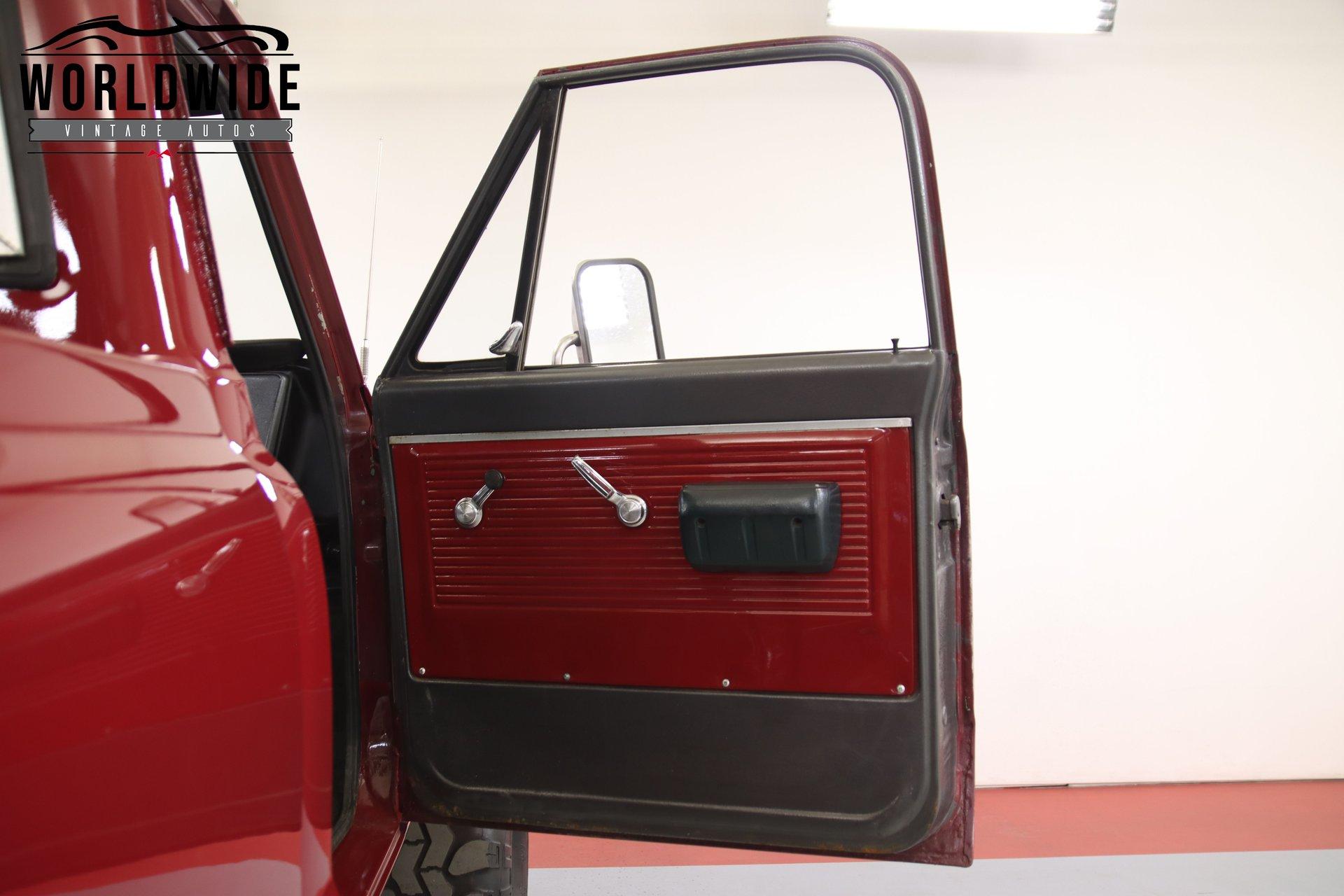 1967 Chevrolet K20