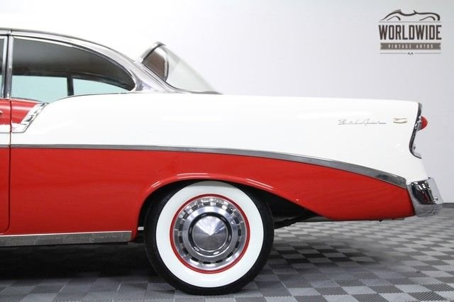 1956 Chevrolet Belair 265 V8  No-Post Hard Top