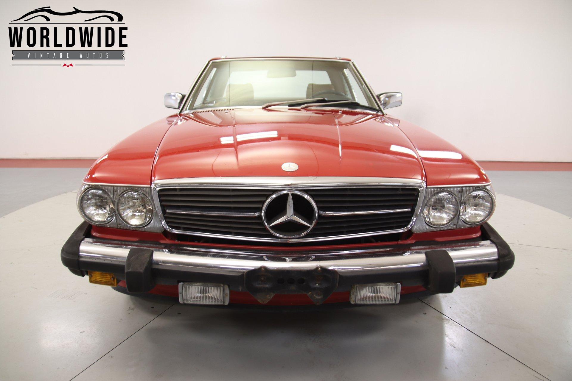 1986 Mercedes 560Sl