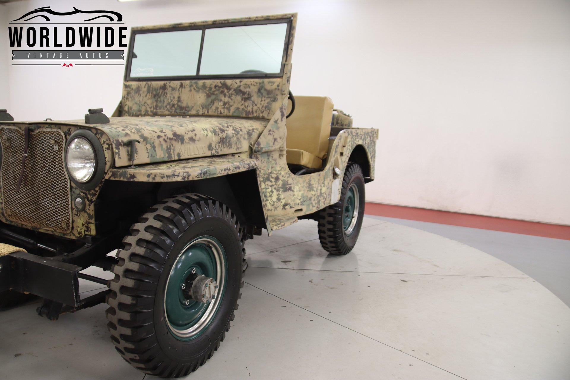 1947 Jeep CJ2A