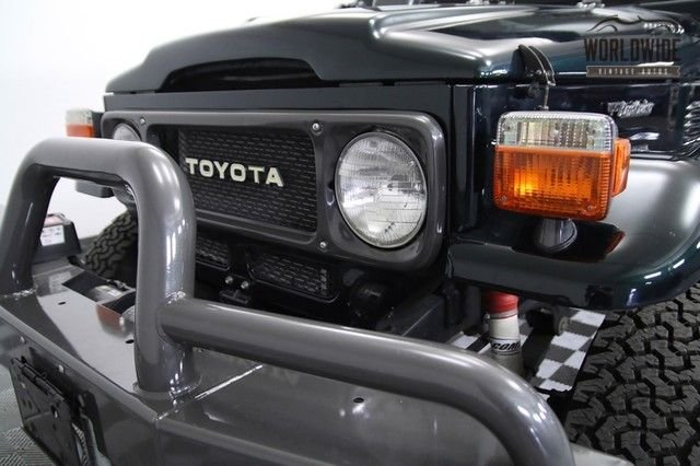 1981 Toyota Fj40 Land Cruiser