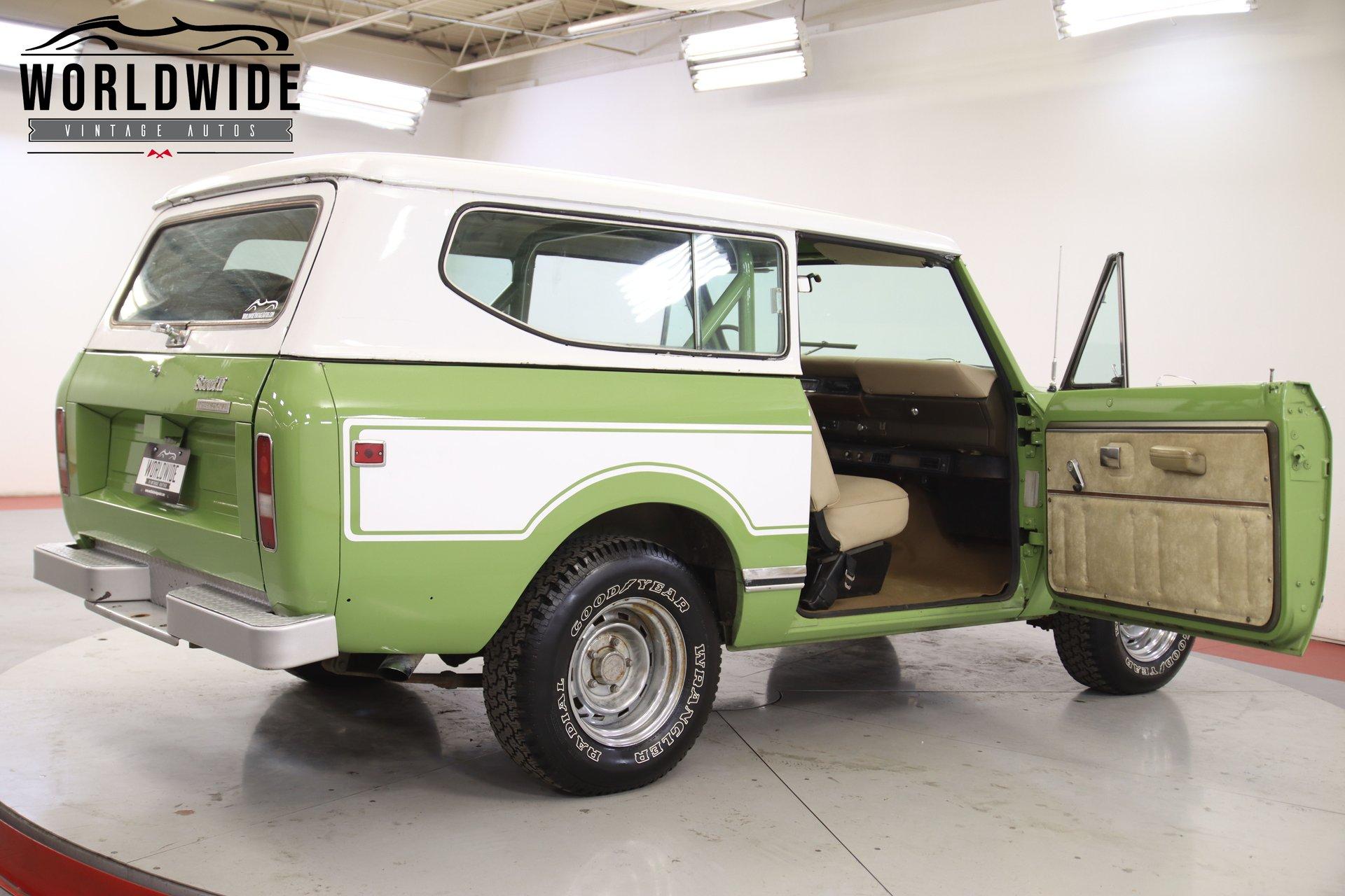 1978 International Scout Rallye