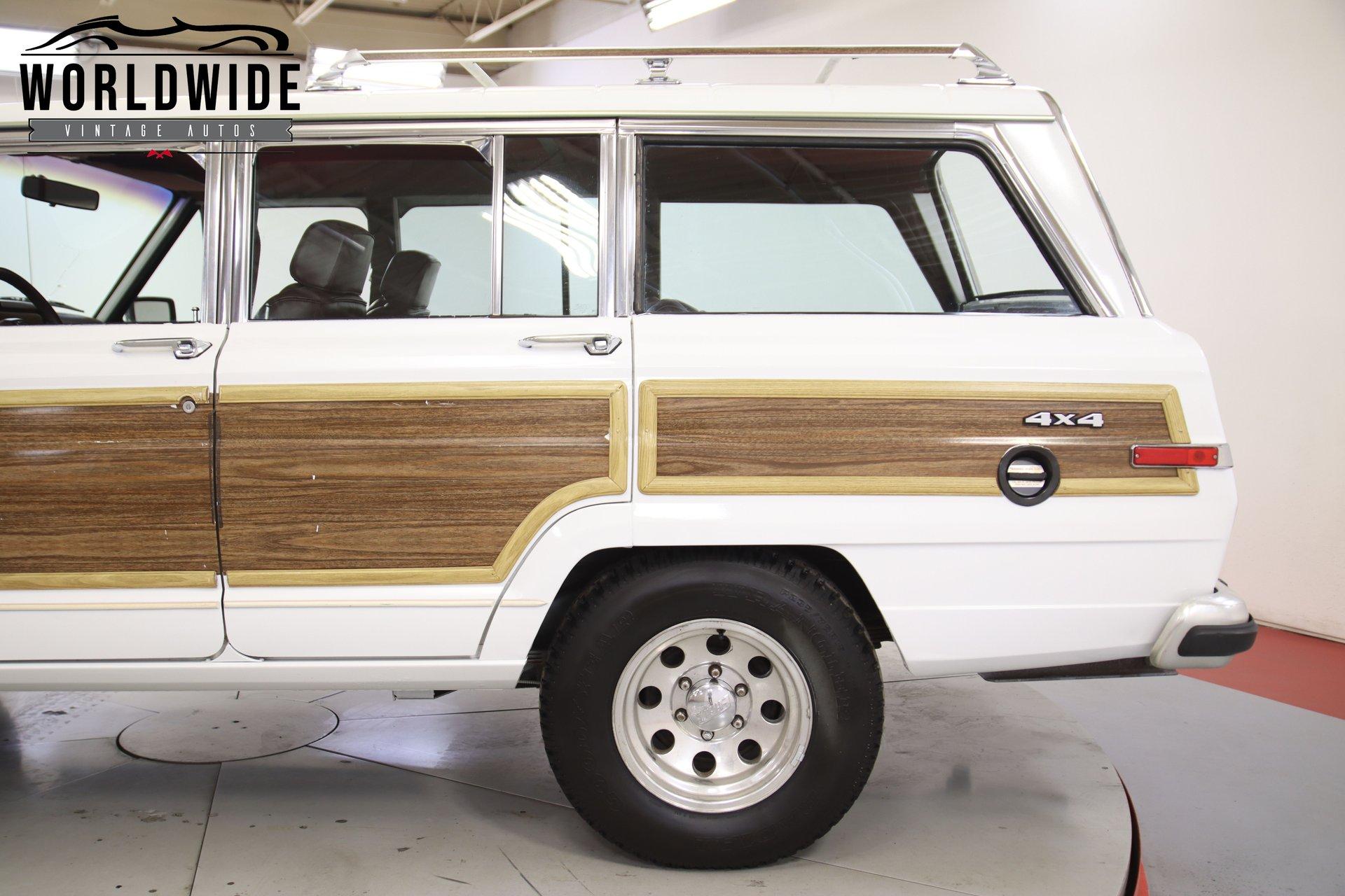 1988 Jeep Grand Wagoneer