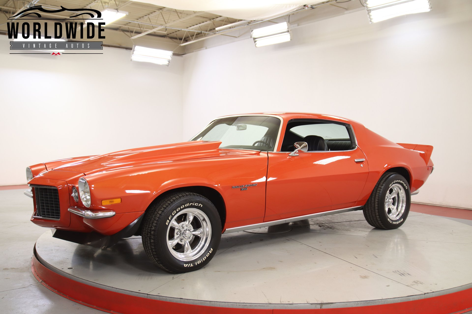 1971 chevrolet camaro rs