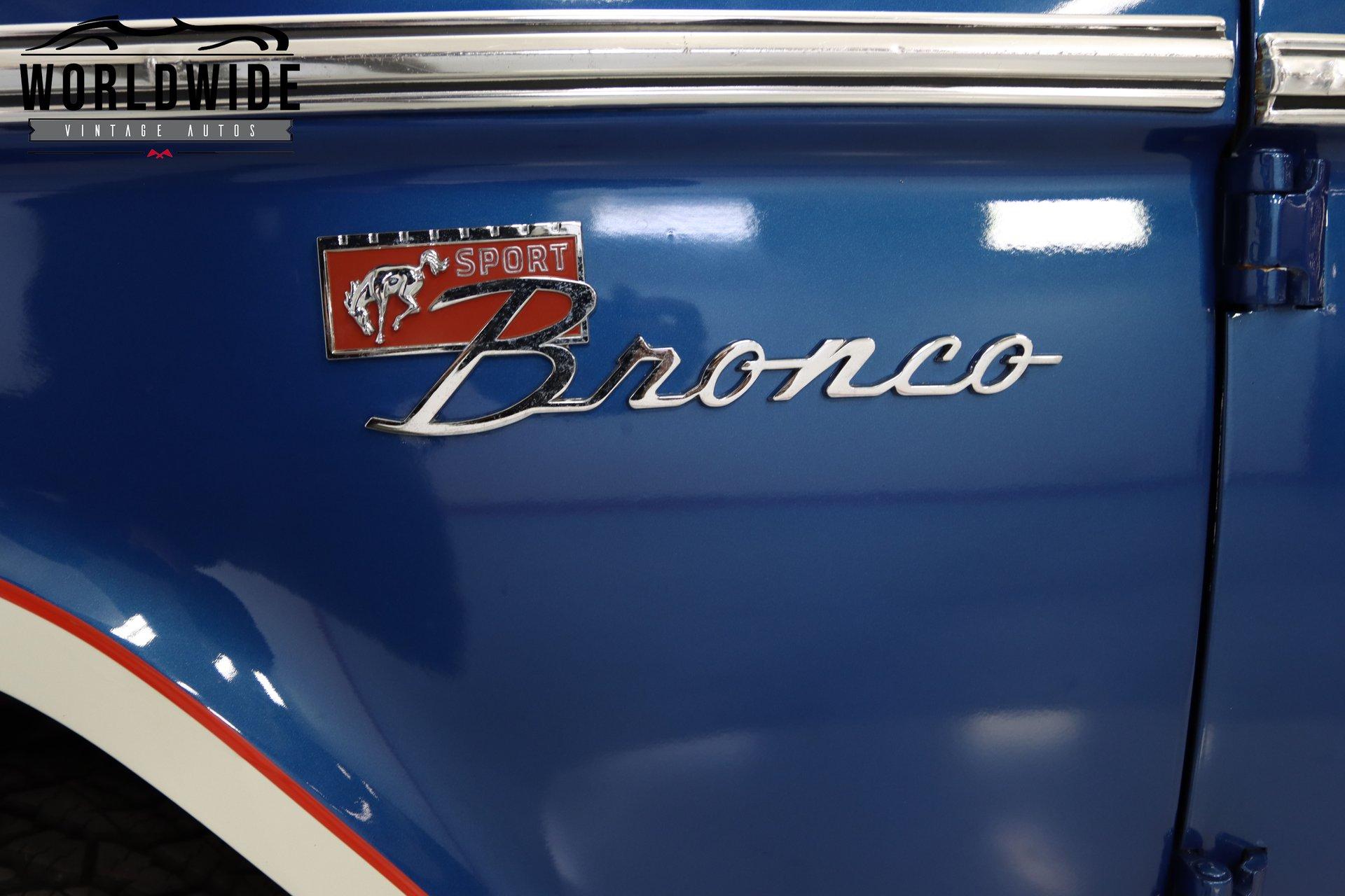 1972 Ford Bronco Sport