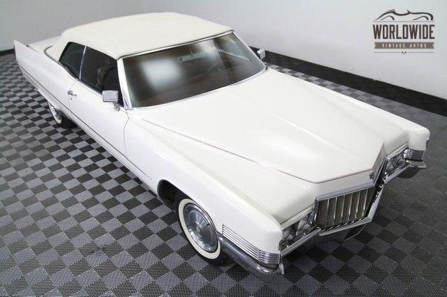 1970 Cadillac Deville Convertible
