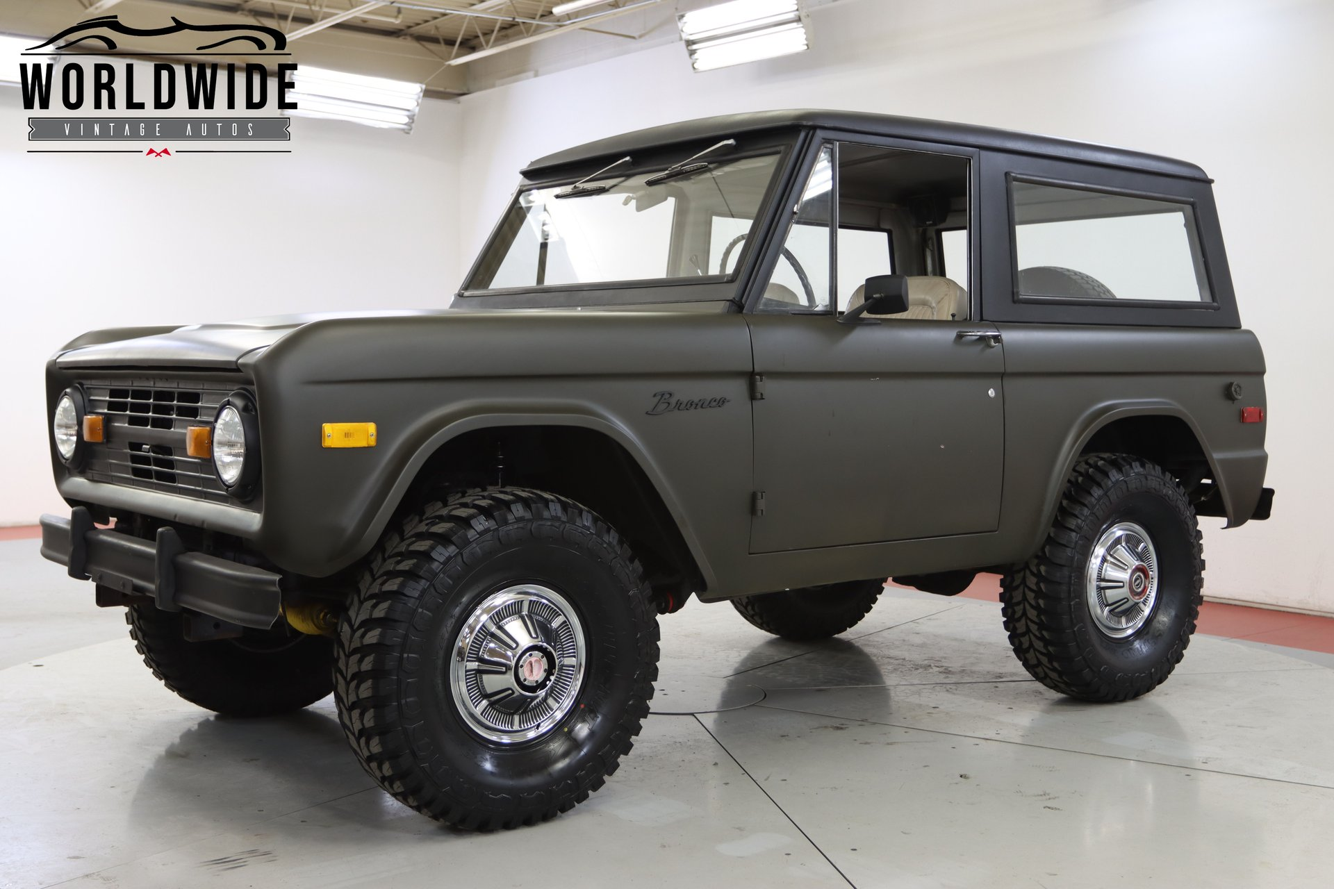 1975 Ford Bronco Worldwide Vintage Autos