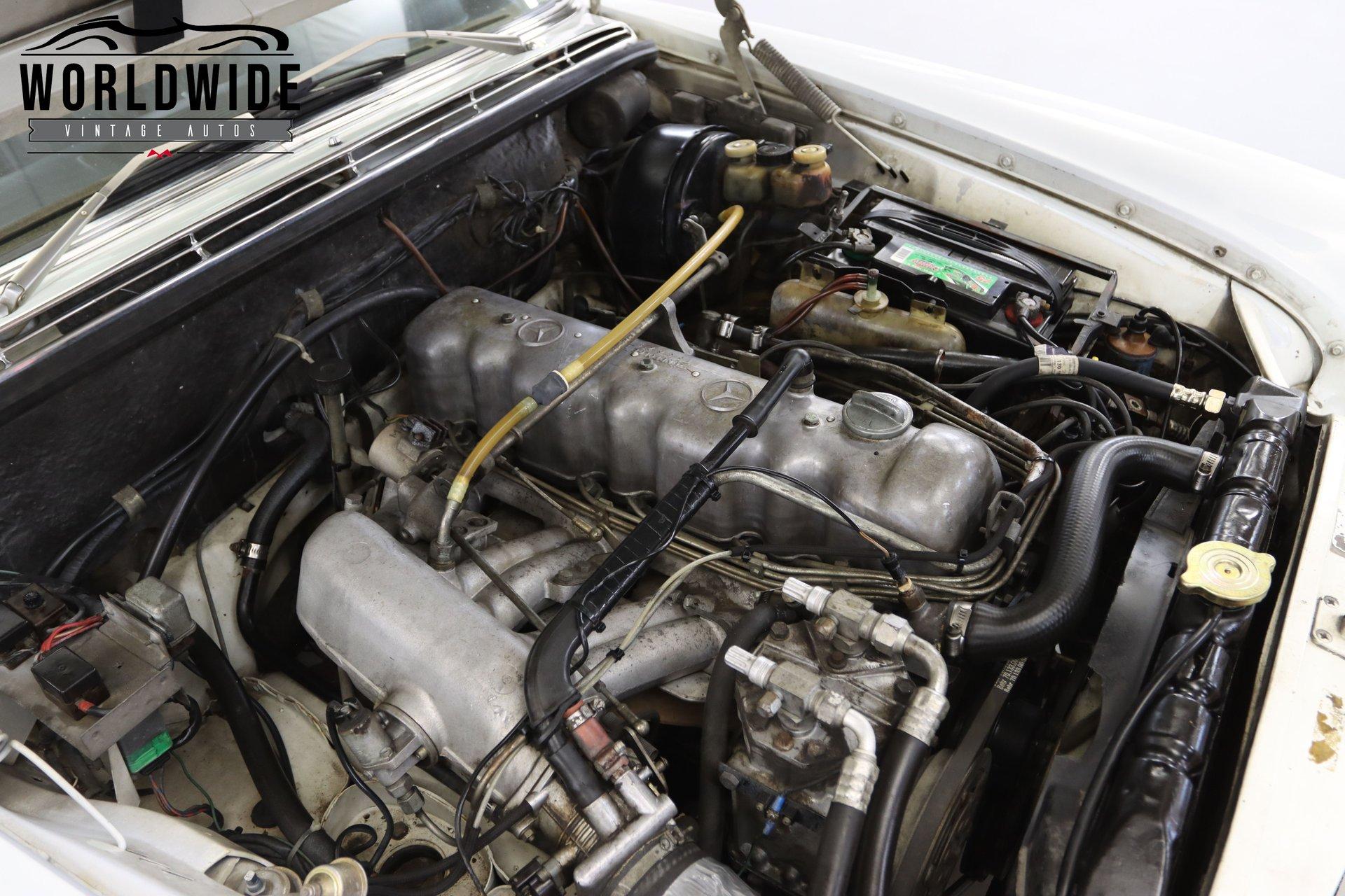 1970 Mercedes 280 SE