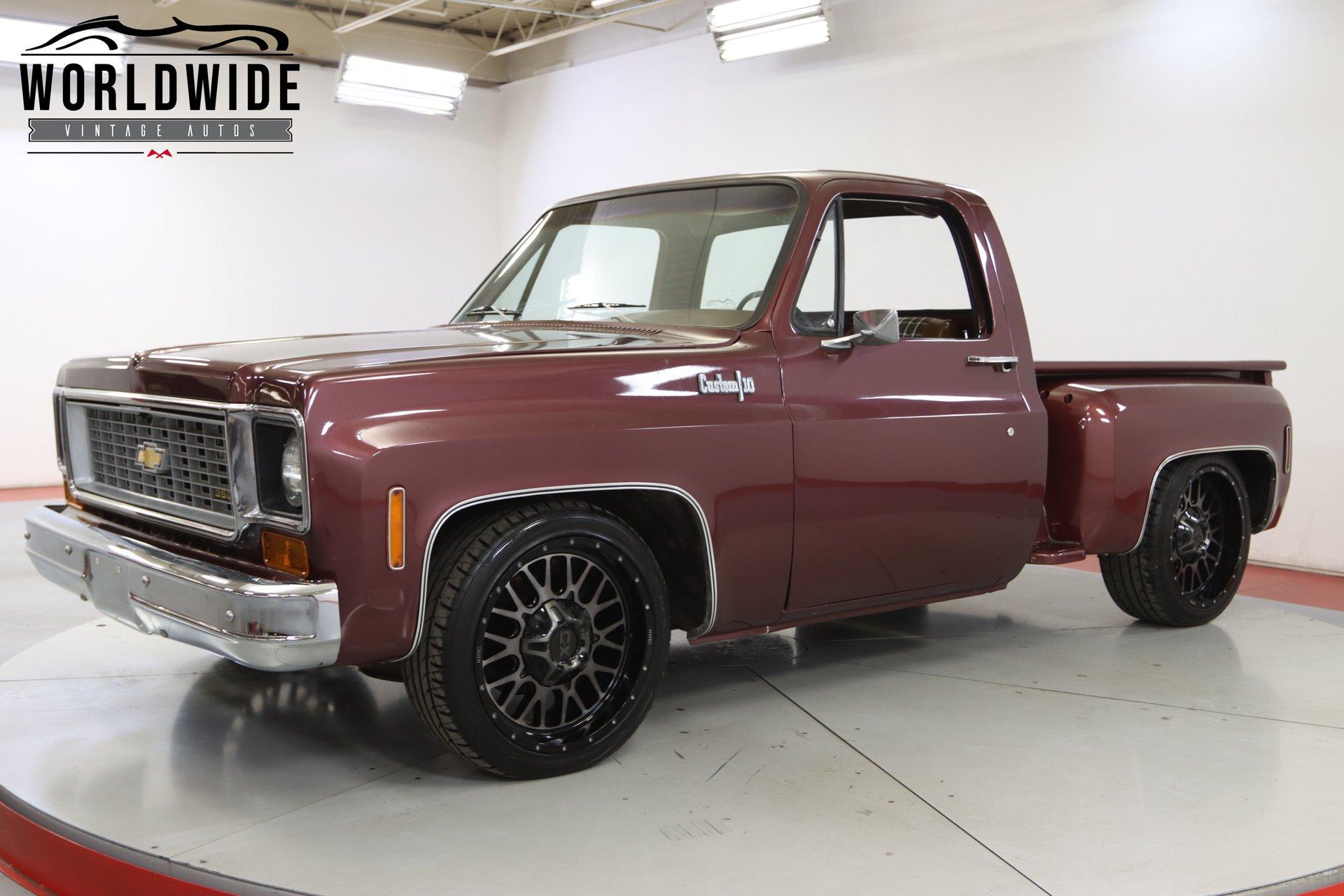 1974 chevrolet c10 custom