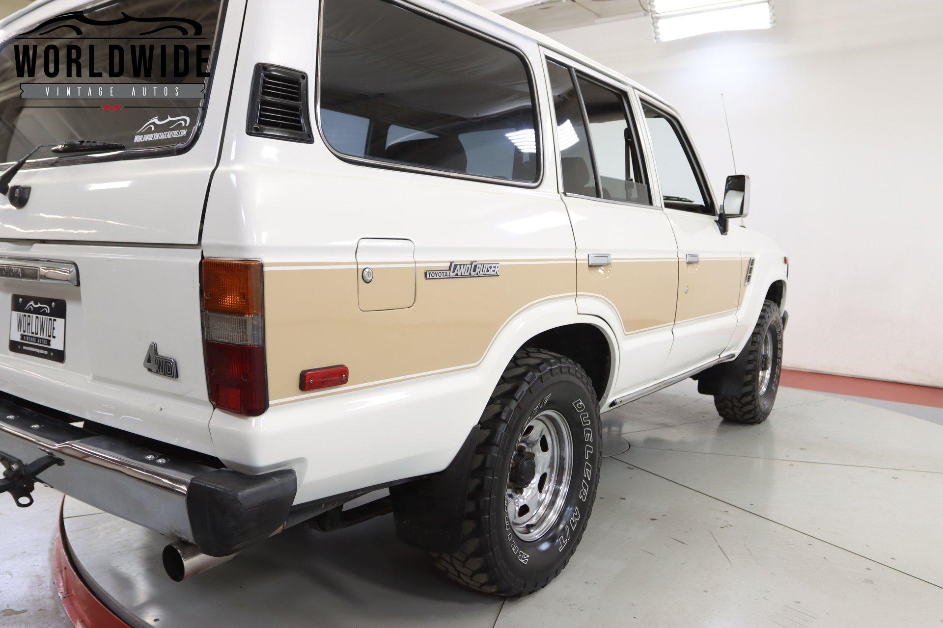 1989 Toyota FJ62 Land Cruiser