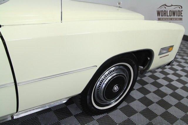 1976 Cadillac Eldorado Convertible.