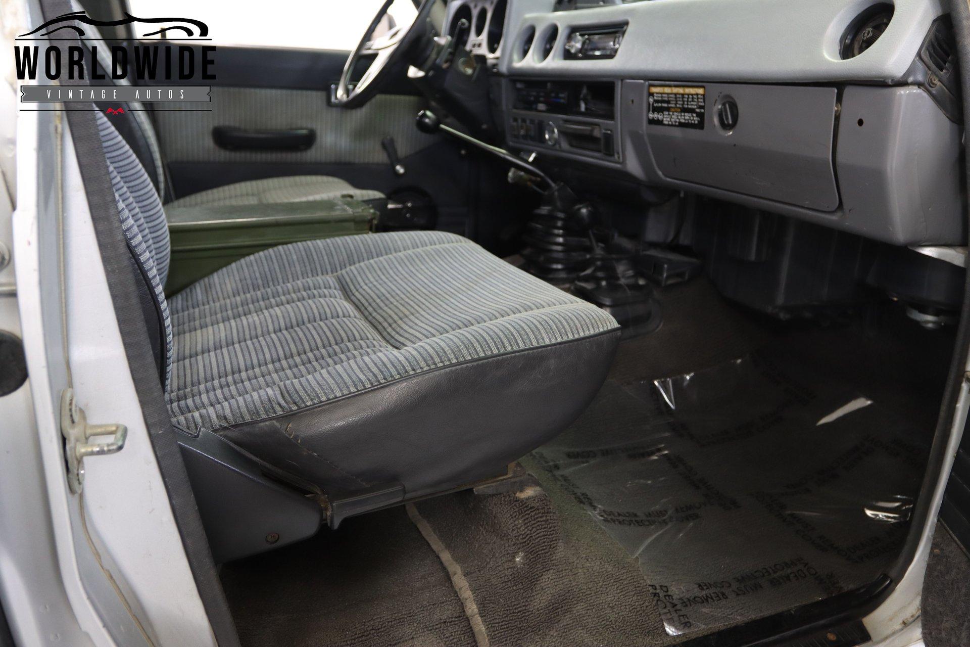 1985 Toyota FJ-60 Land Cruiser