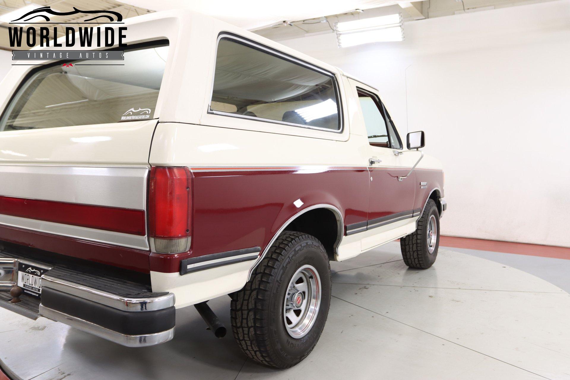 1988 Ford Bronco XLT