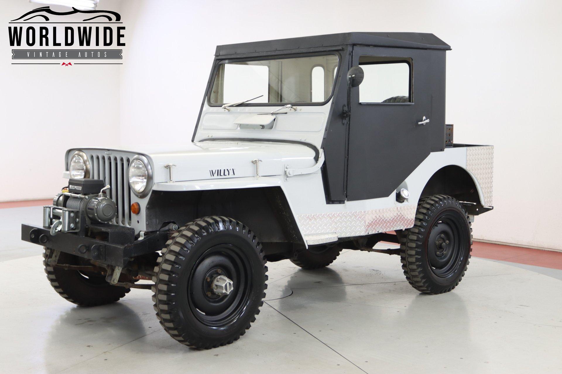 1952 jeep willys cj3a