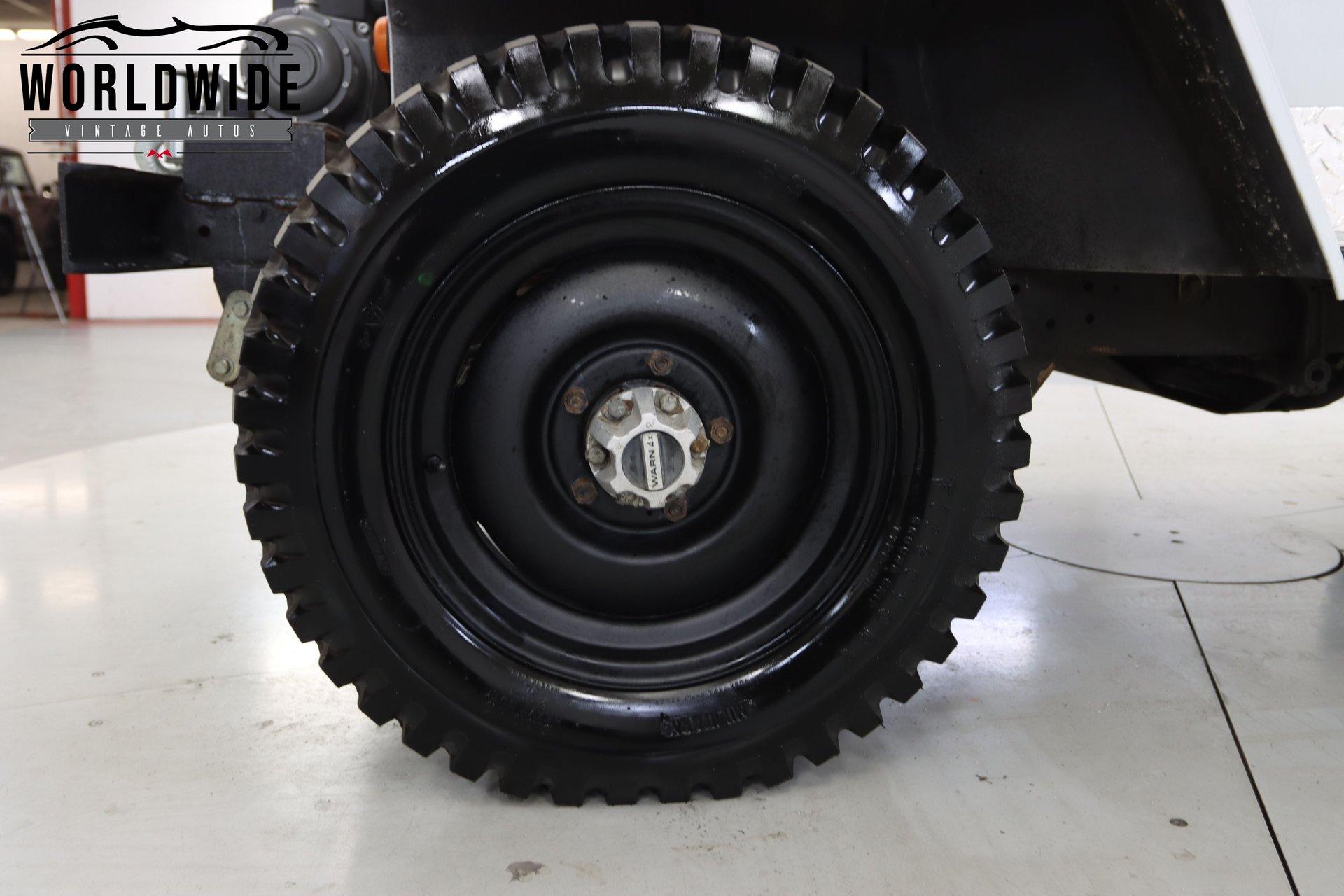 1952 Willys Cj3B