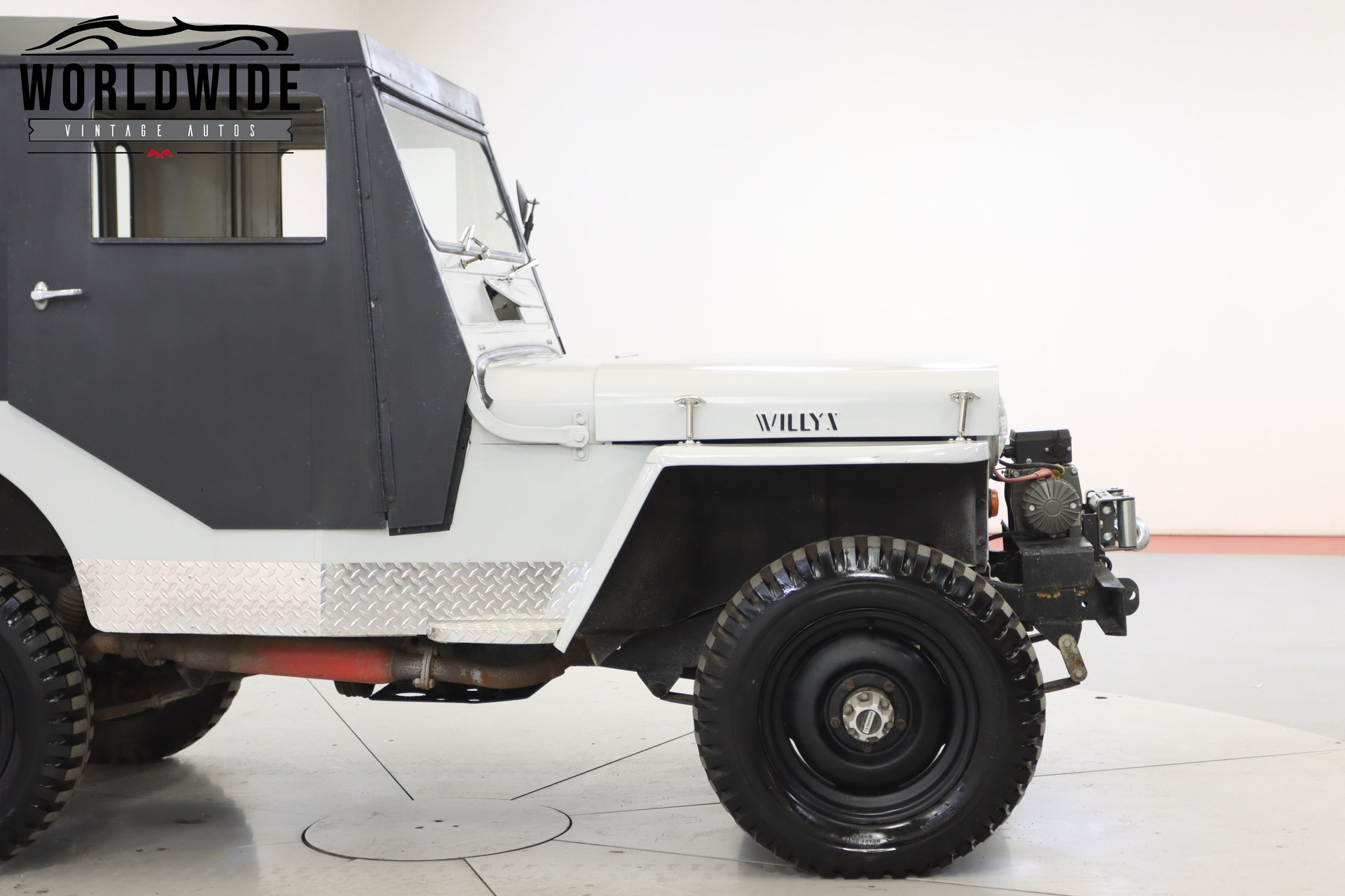1952 Willys Cj3