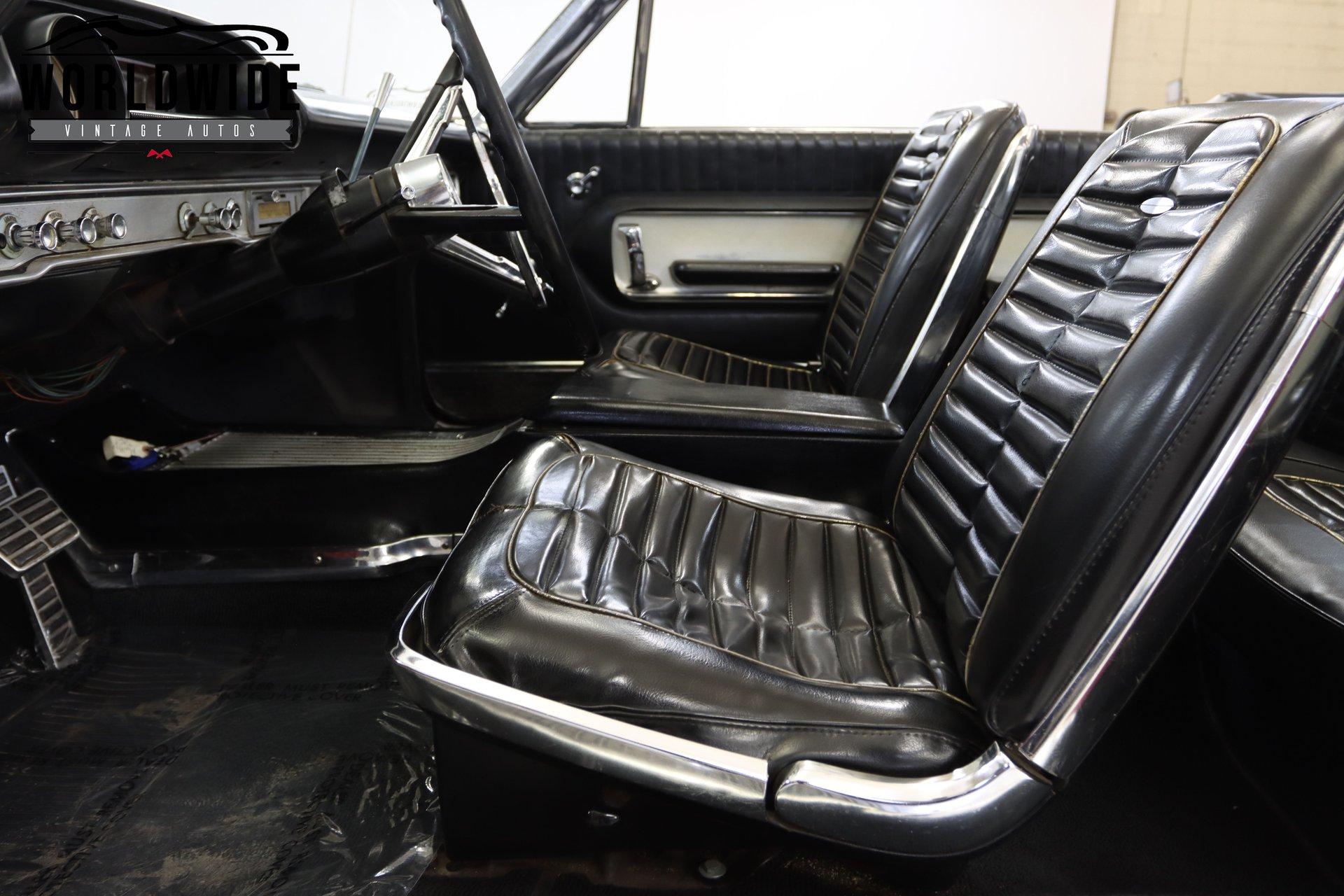 1964 Ford Galaxie 500 Xl Convertible
