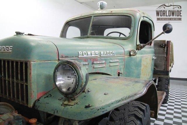 1947 Dodge Power Wagon Wdx