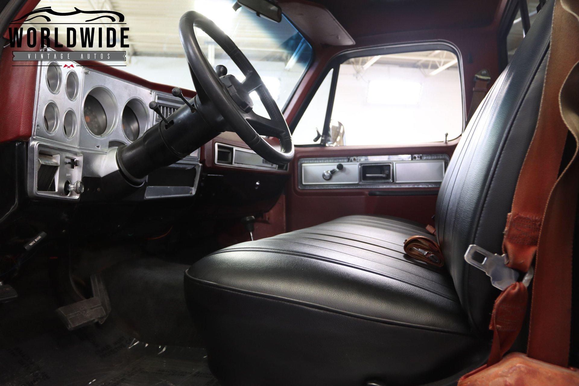 1978 Chevrolet K20 Camper Special