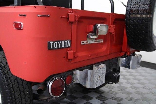 1973 Toyota Fj40 Land Cruiser