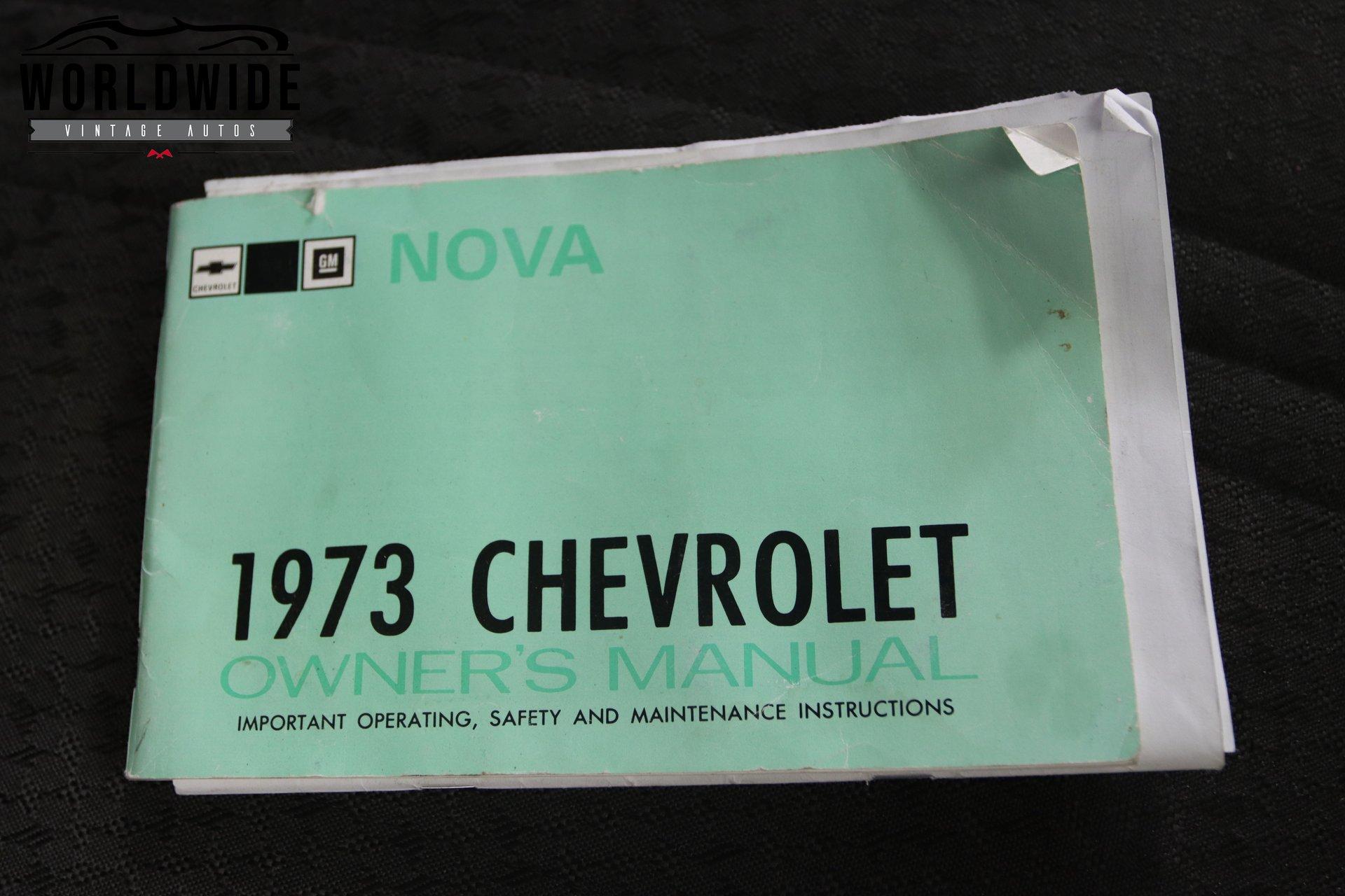 1973 CHEVY NOVA
