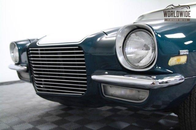 1970 Camaro Split Bumper. Restored. Rare. V8