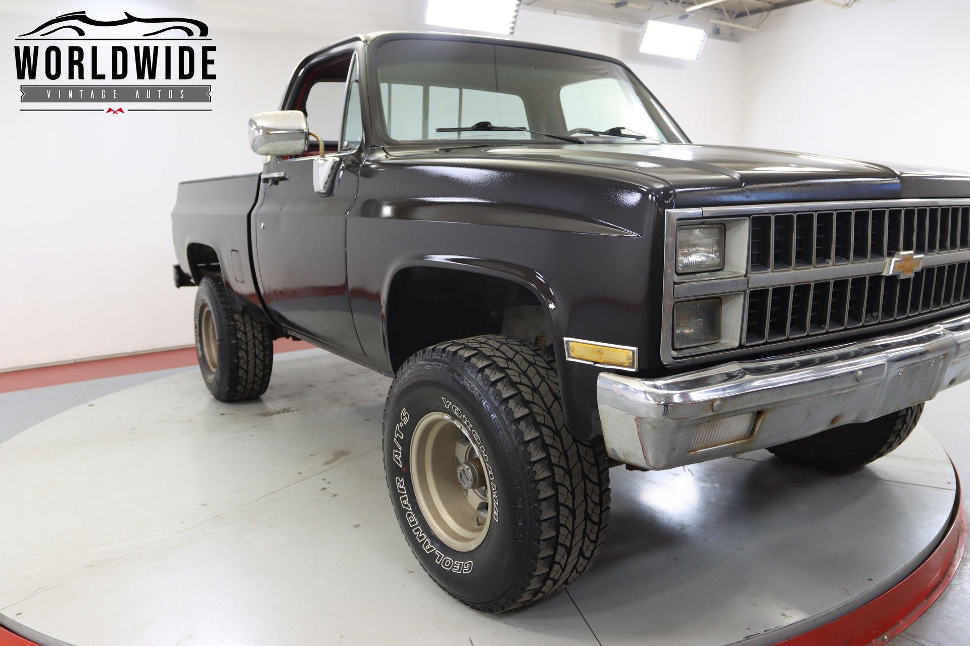 1981 Chevrolet K10