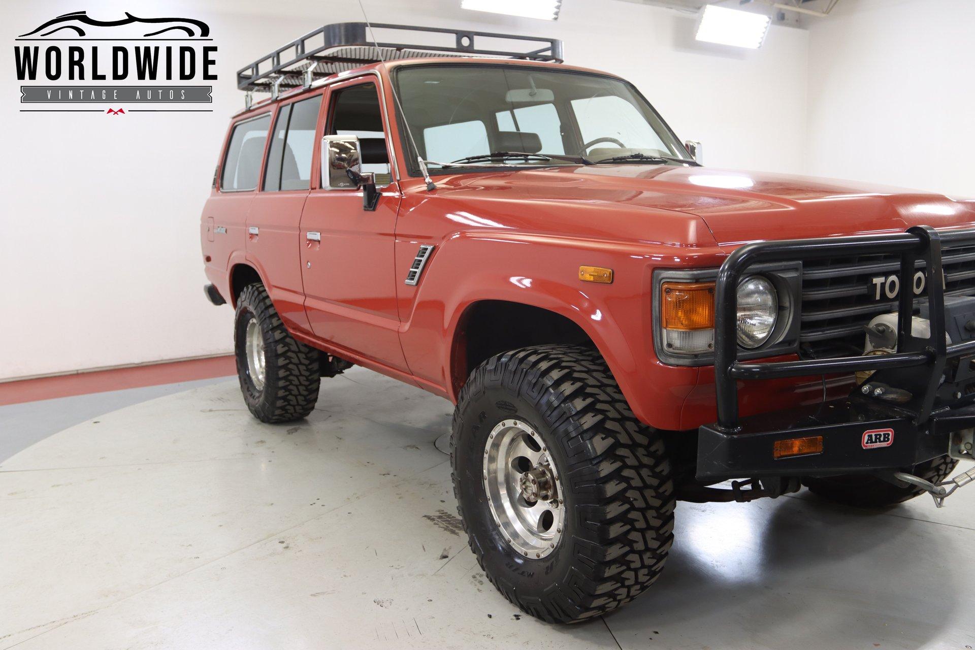 1981 Toyota Land Cruiser Fj60