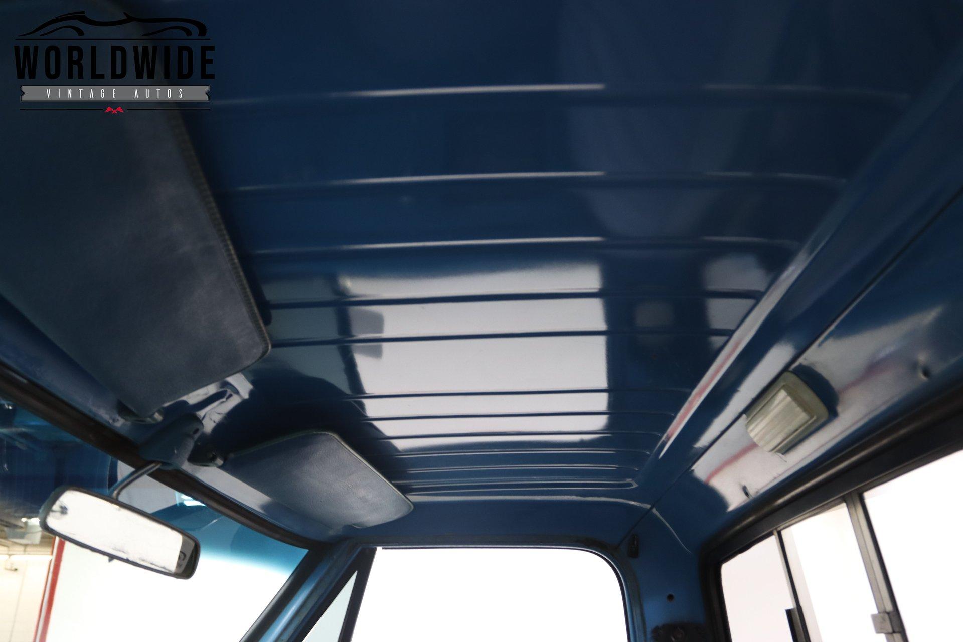 1971 Chevrolet K20 Camper Special