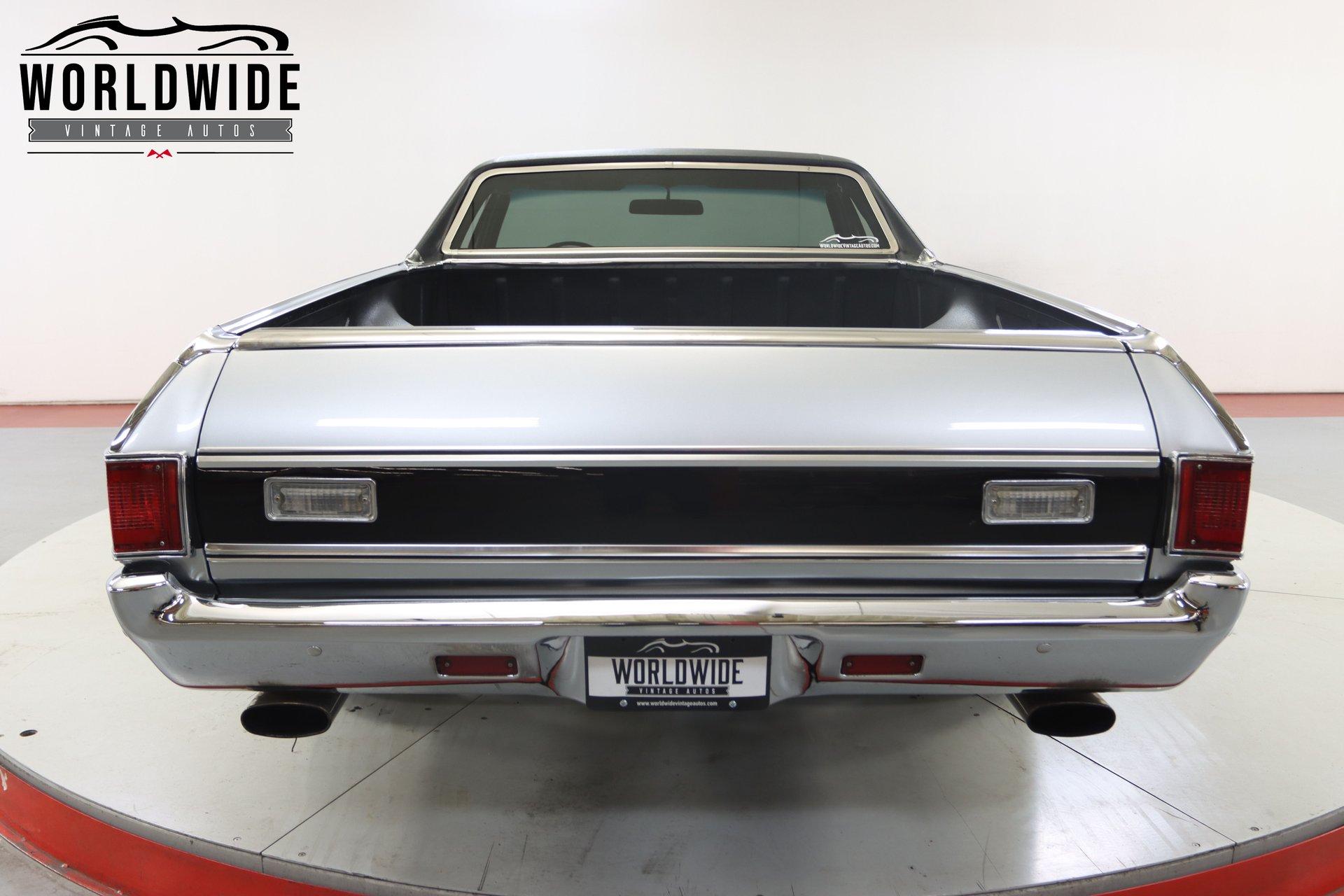1972 Chevrolet El Camino SS