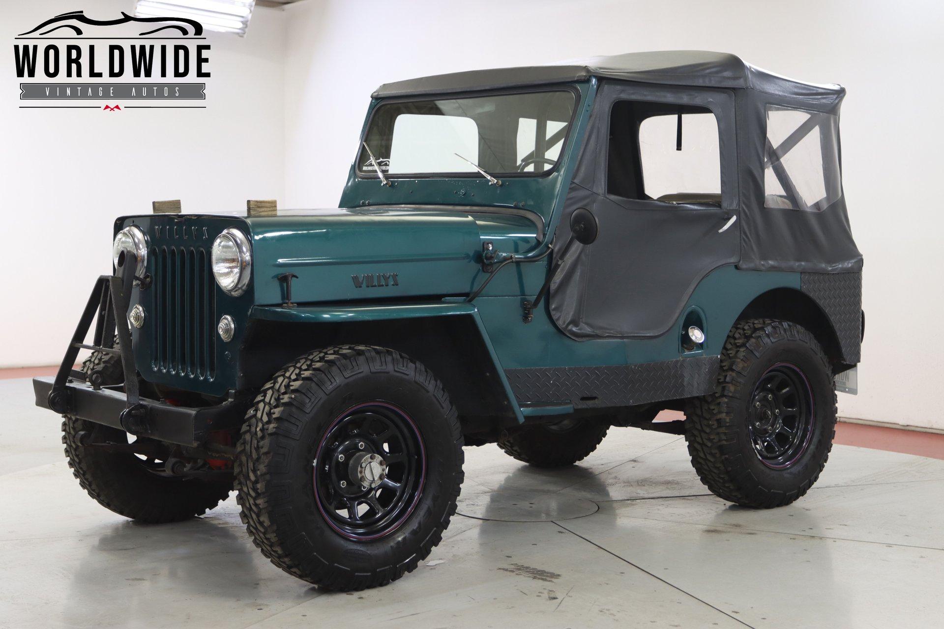 1954 willy s jeep cj3b