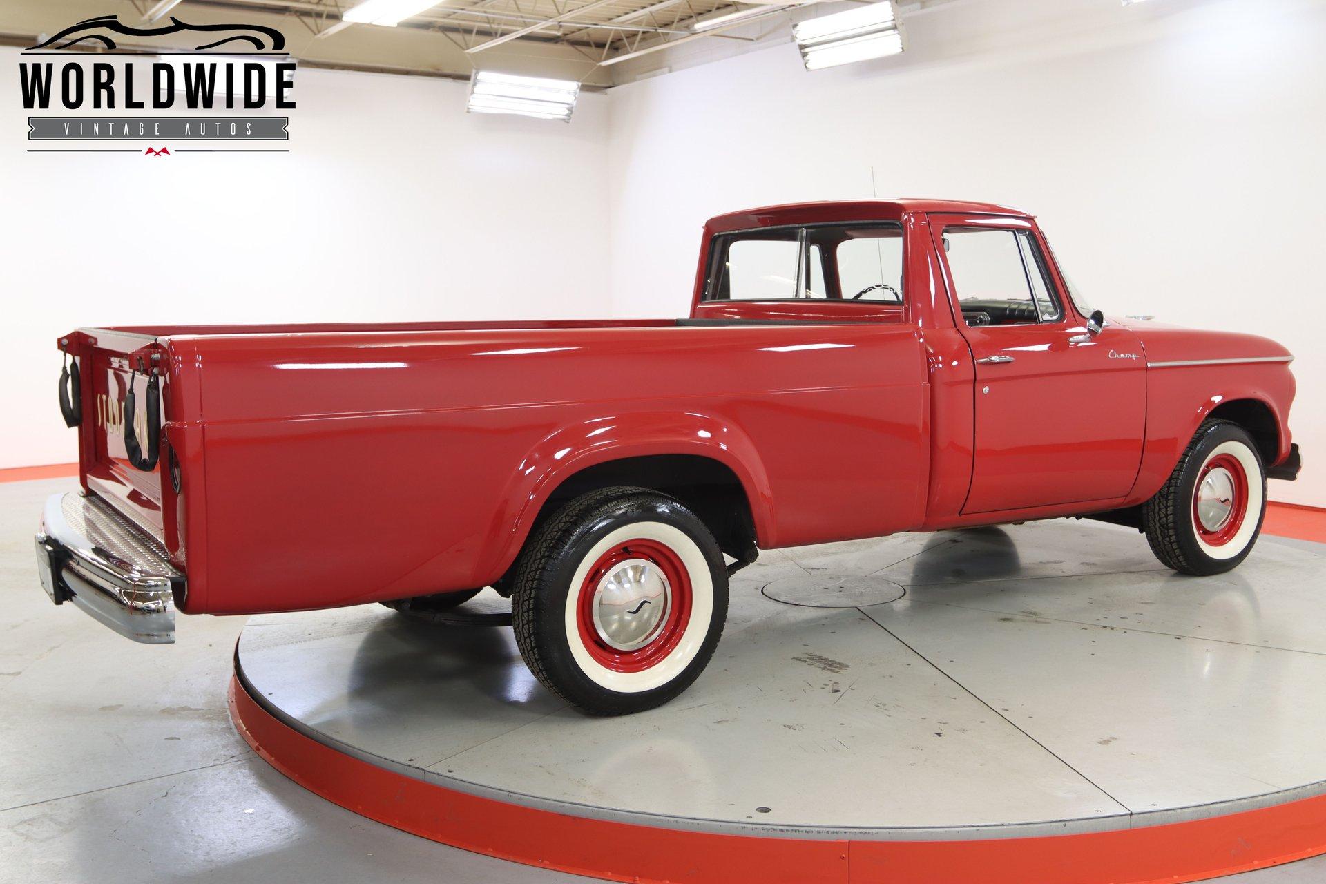 1961 Studebaker Champ