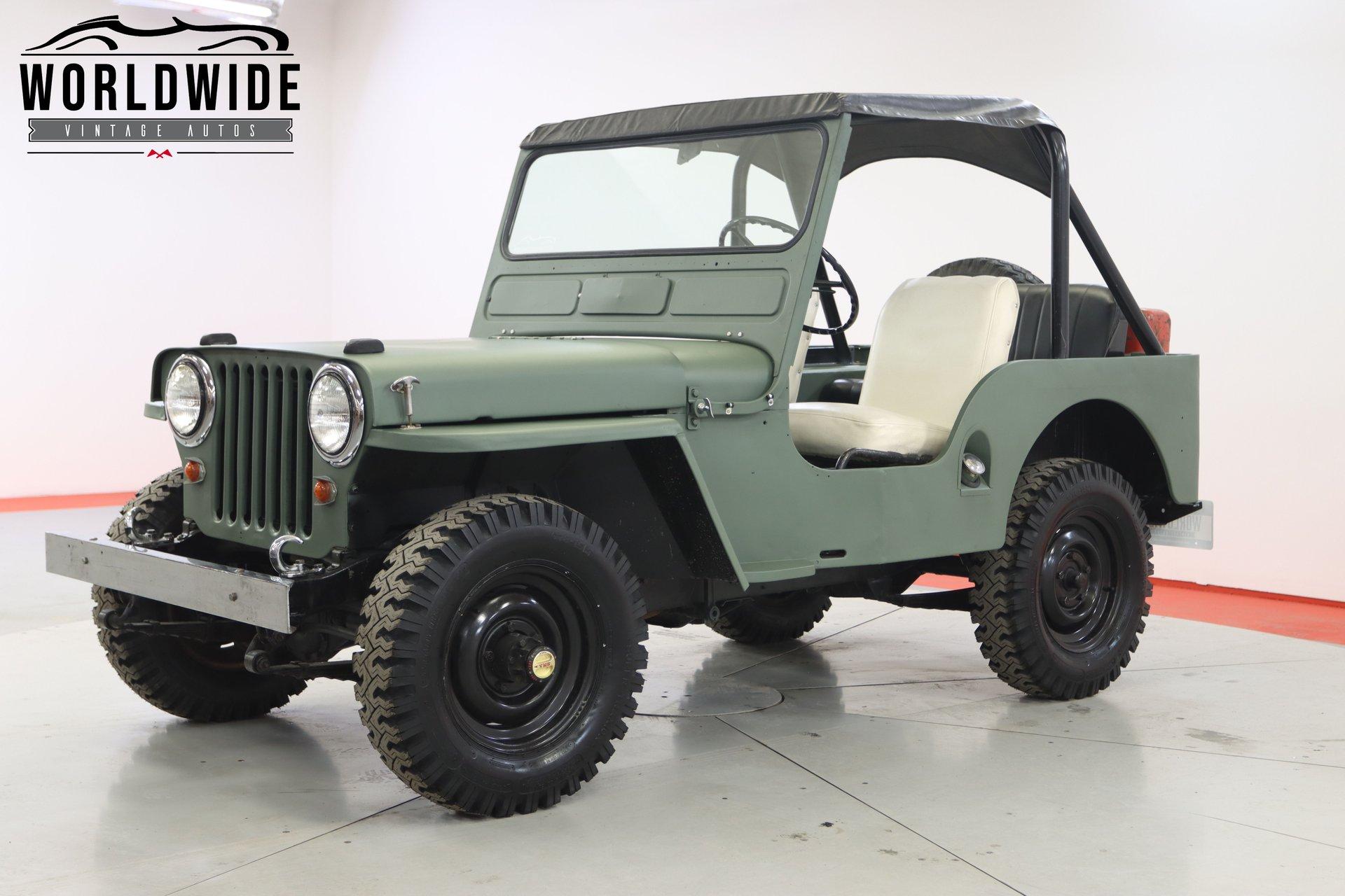 1950 willys jeep cj 5v