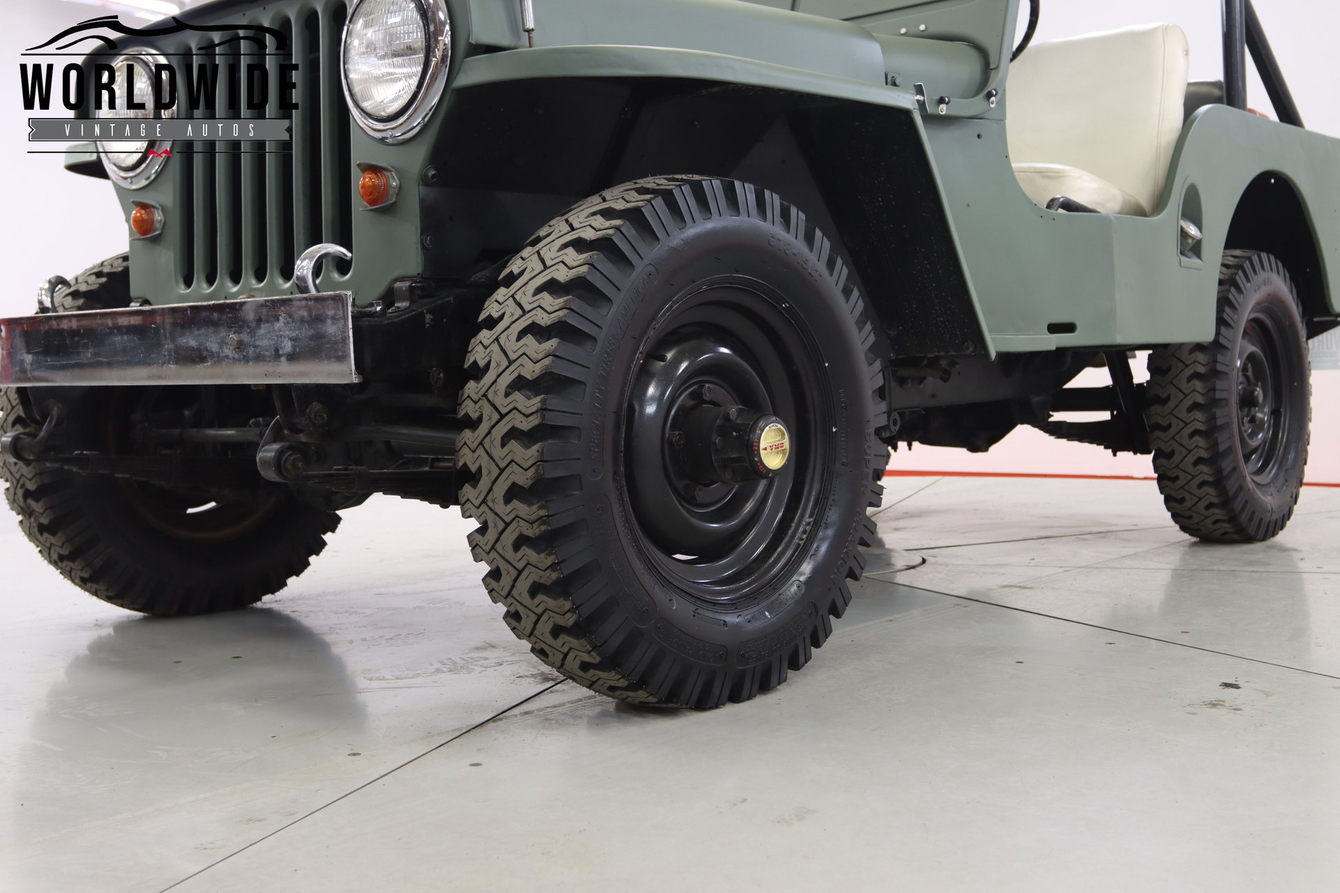 1950 Willys JEEP CJ-5V