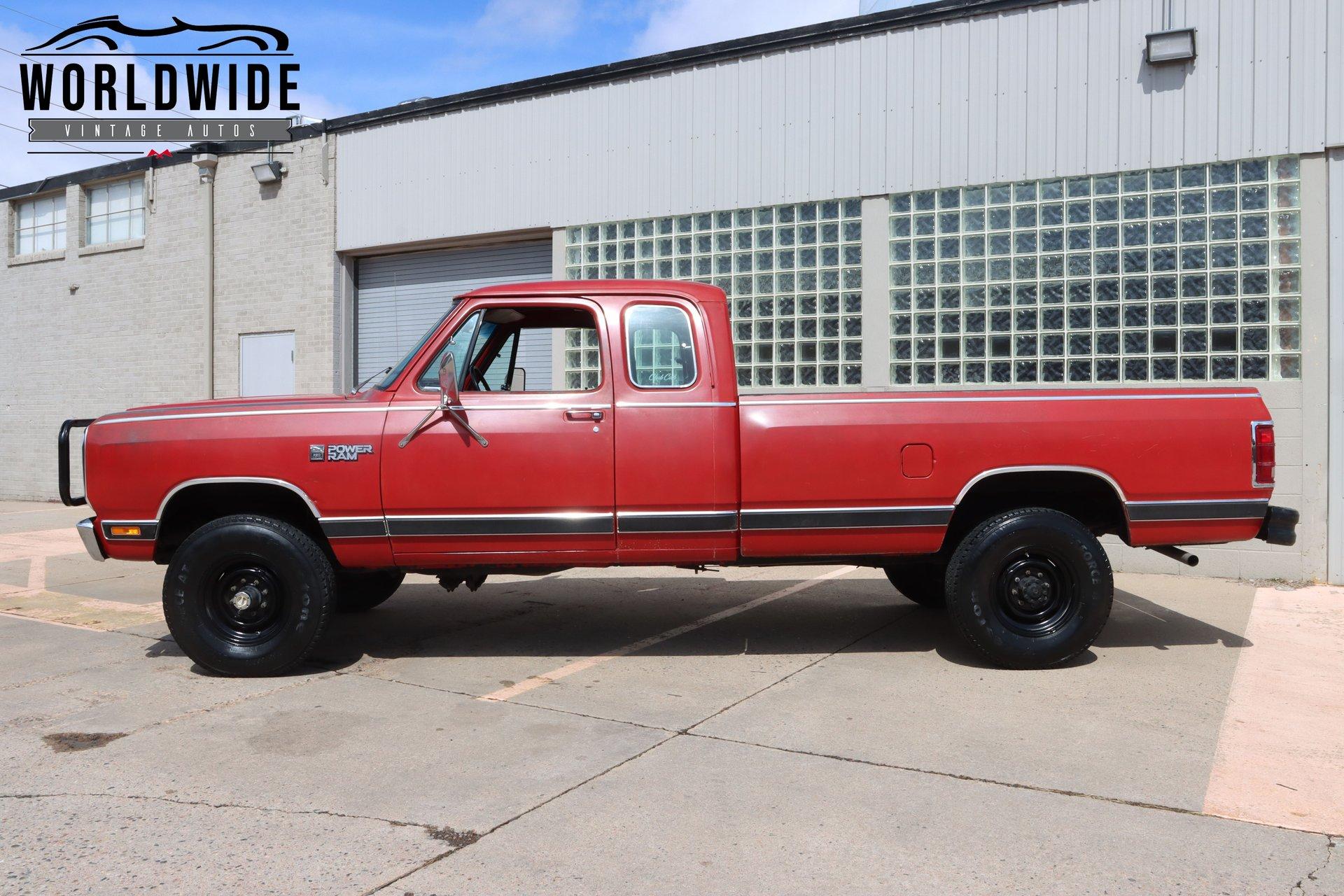 1982 Dodge Power Ram W-series